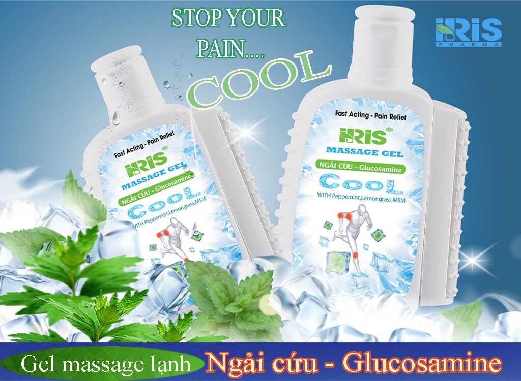 Gel Massage Lạnh IRIS