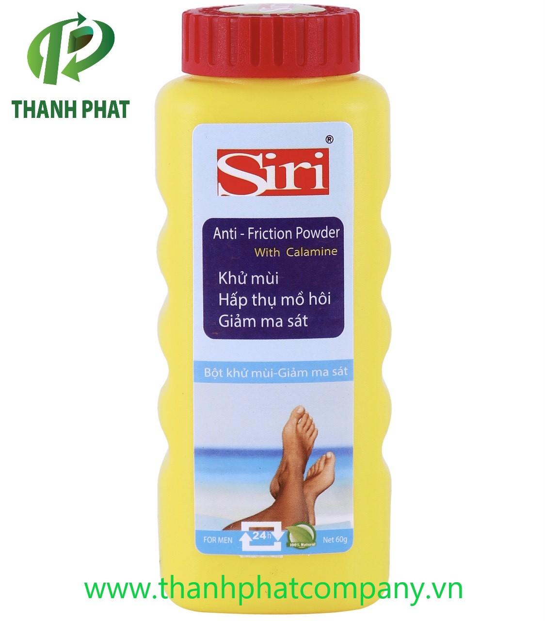 Bột Khử Mùi Ma Sát Nam và Nữ