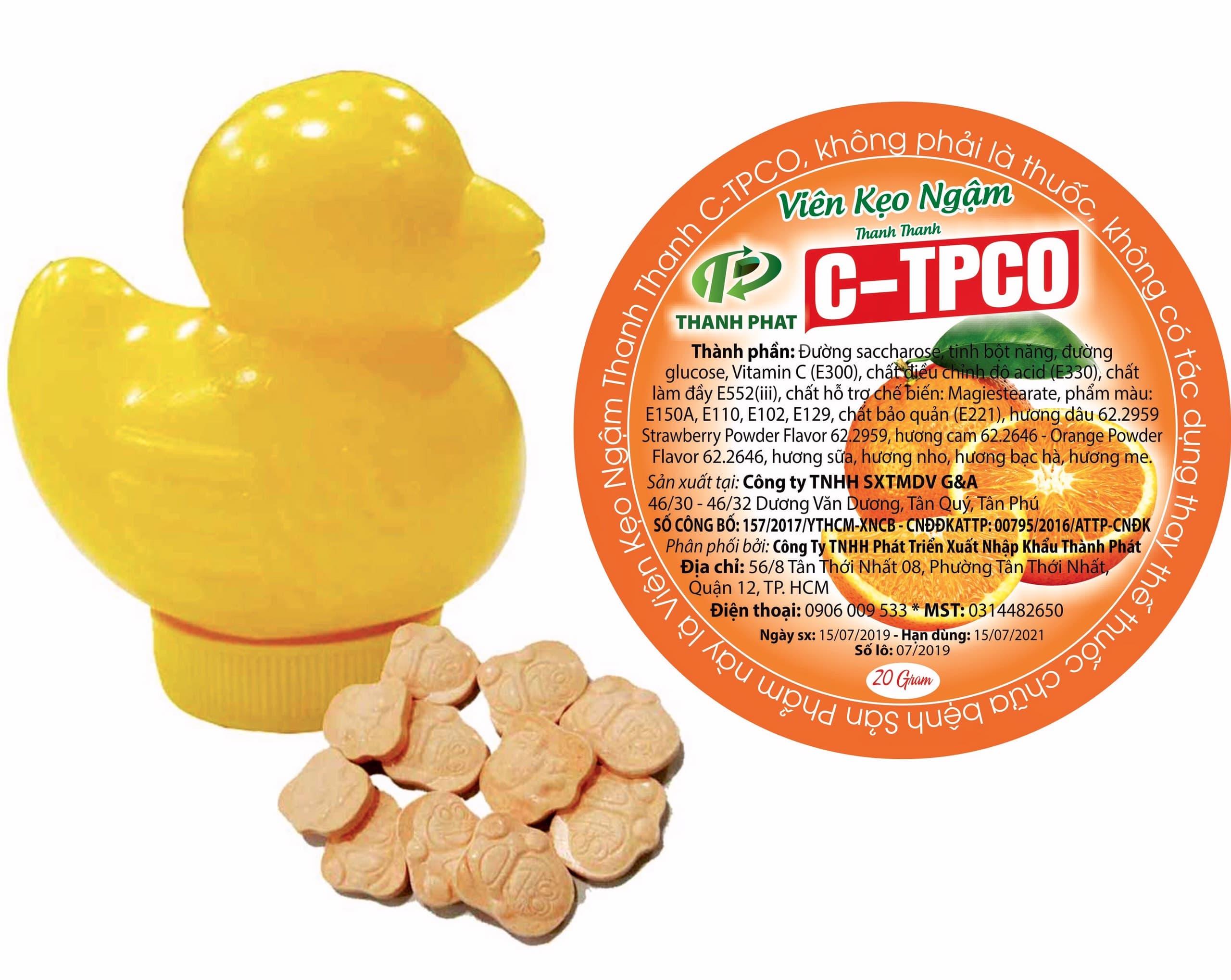 Kẹo Viên Ngậm C-TPCO