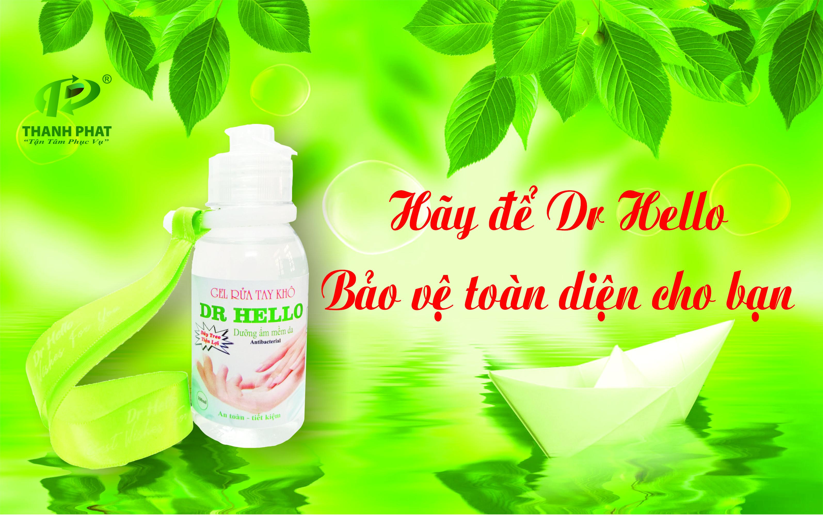 Gel  Rửa Tay Khô DR HELLO- 100ml