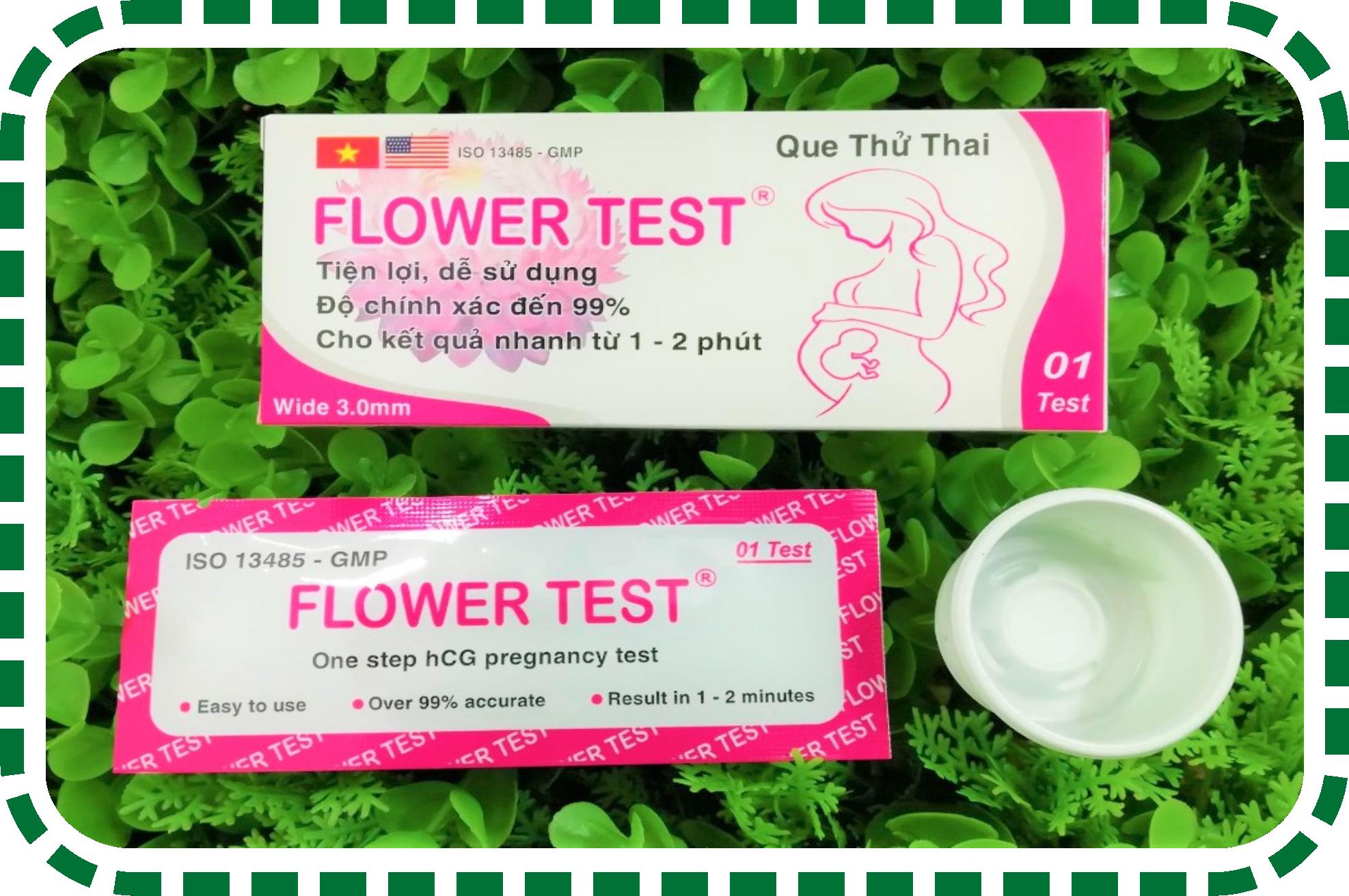 Que Thử Thai Flower Test