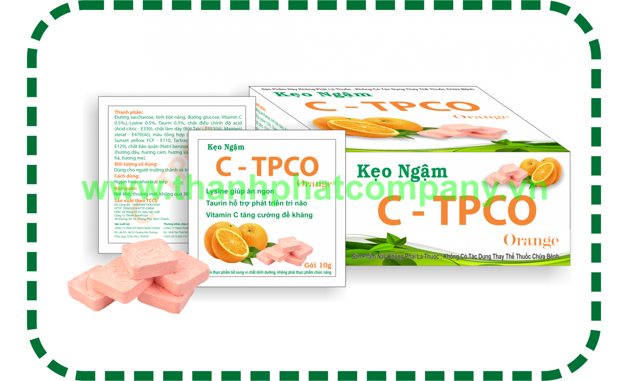 Viên Ngậm C - TPCO 05g - 10g