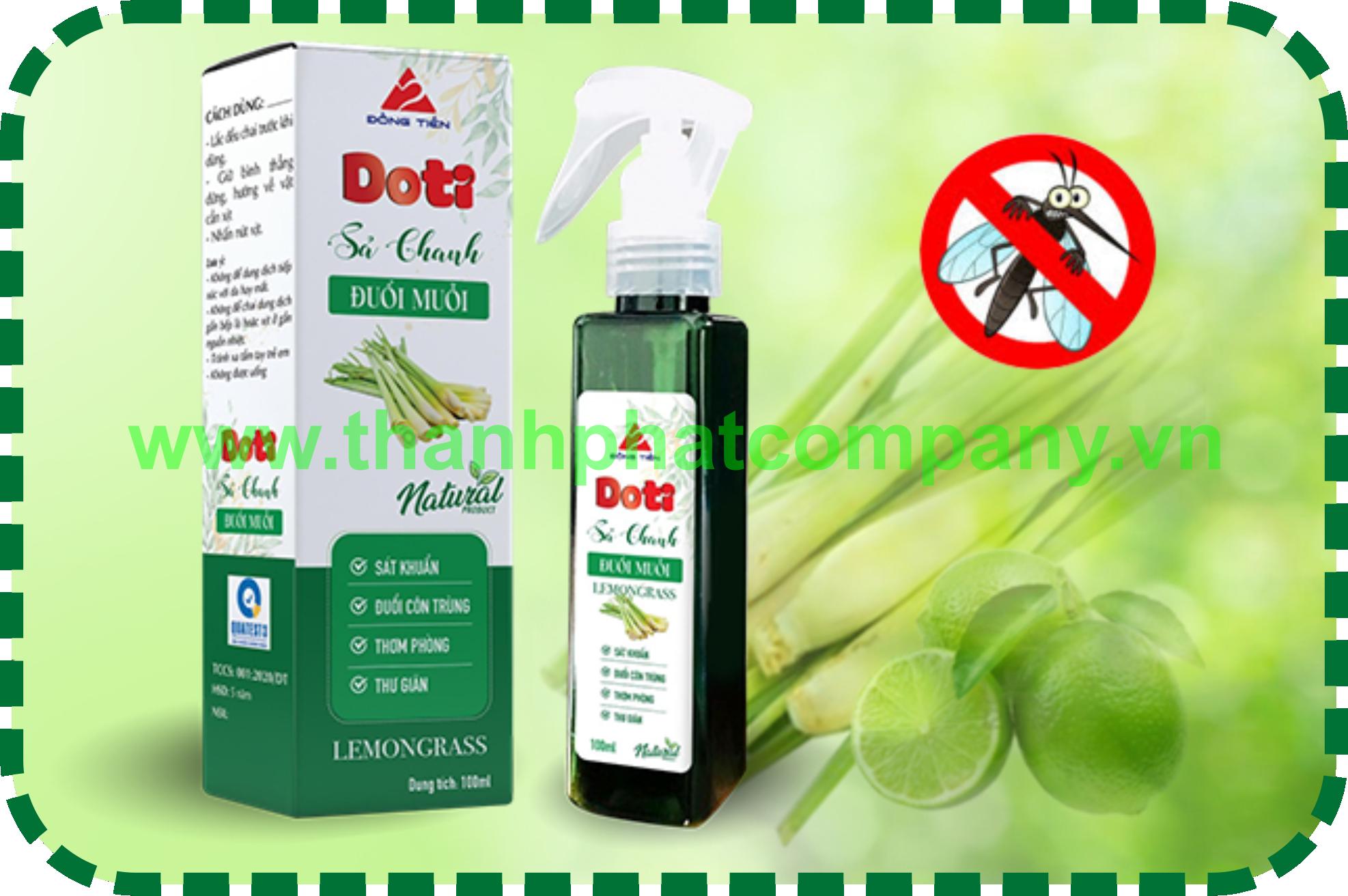 Dung Dịch Xịt Đuỗi Muỗi DOTI